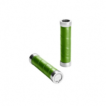 BROOKS Griffe Slender Leather Grips - apple green