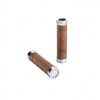 BROOKS Griffe Slender Leather Grips - aged