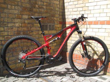 Specialized Camber Comp Carbon 29 schwarz/rot