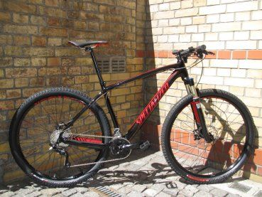 Specialized Stumpjumper HT Comp Carbon 29 schwarz/rot