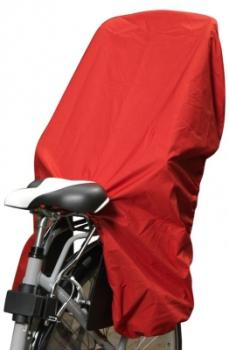 fahrrad linke trockolino kindersitz regenschutz rot. Black Bedroom Furniture Sets. Home Design Ideas