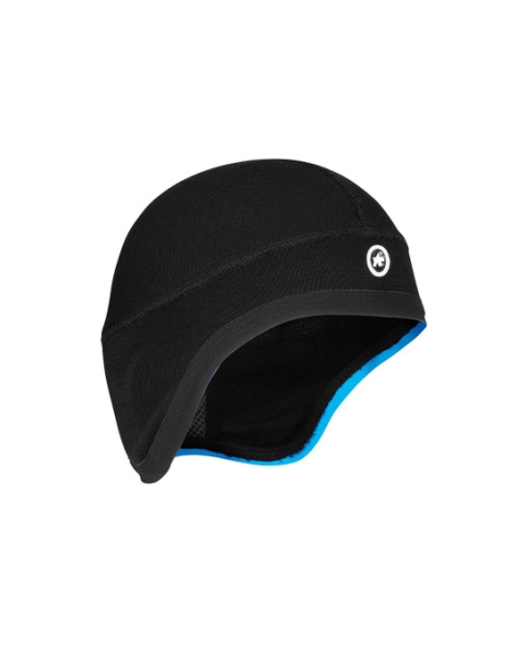 Assos Face Cap Winter schwarz