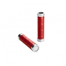 BROOKS Griffe Slender Leather Grips - red