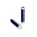 BROOKS Griffe Slender Leather Grips - royal blue